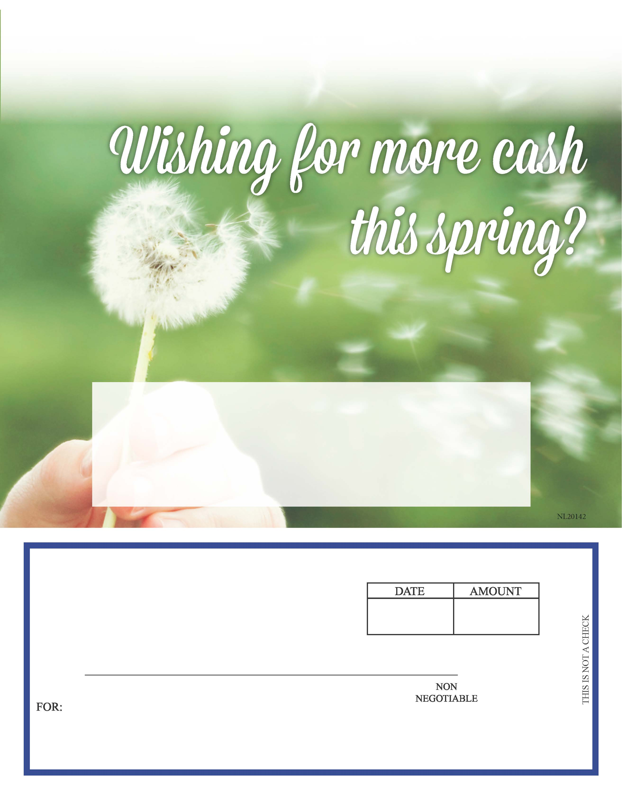 Spring Product Categories Loan Supplies